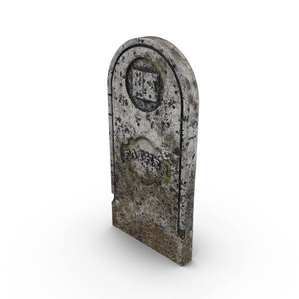 Grave: Father Headstone PNG & PSD Images