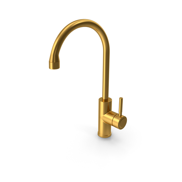 Faucet Gold PNG & PSD Images