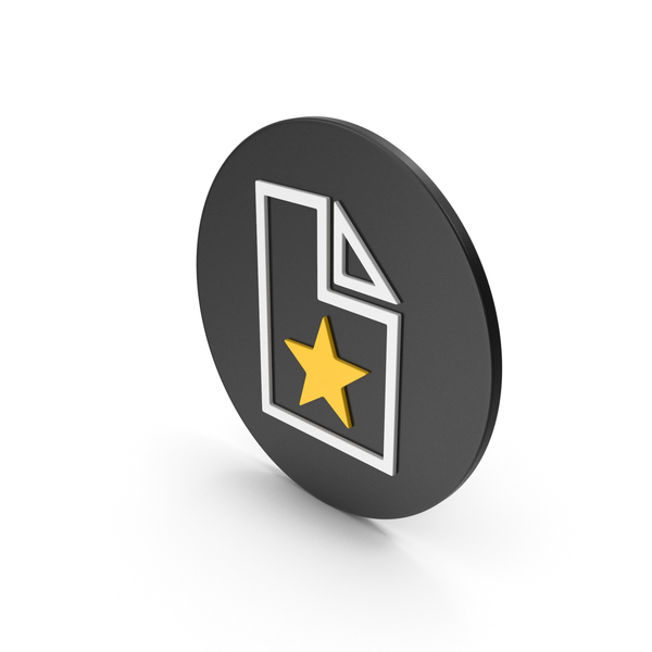 Computer: Favorite File Icon PNG & PSD Images