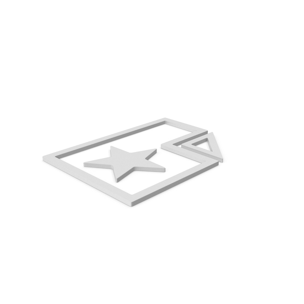 Computer Icon: Favorite File Symbol PNG & PSD Images