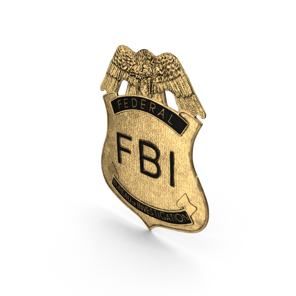 FBI Badge Object