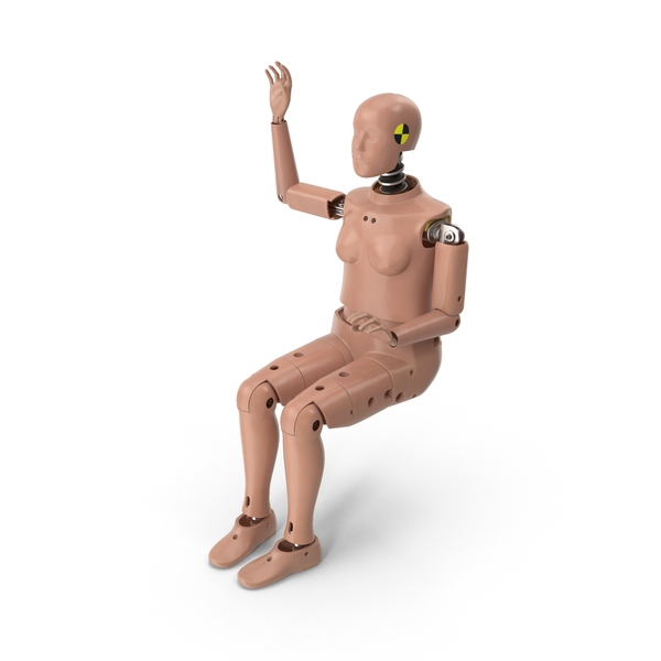 Female Crash Test Dummy PNG & PSD Images
