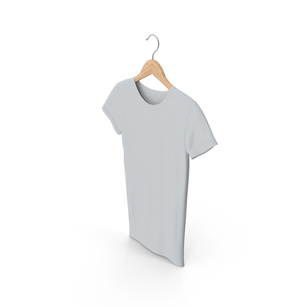 Female Crew Neck on Hanger PNG & PSD Images