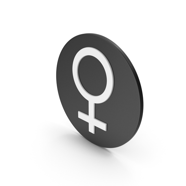 Symbol: Female Icon PNG & PSD Images