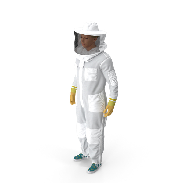Female Professional Beekeeper PNG & PSD Images