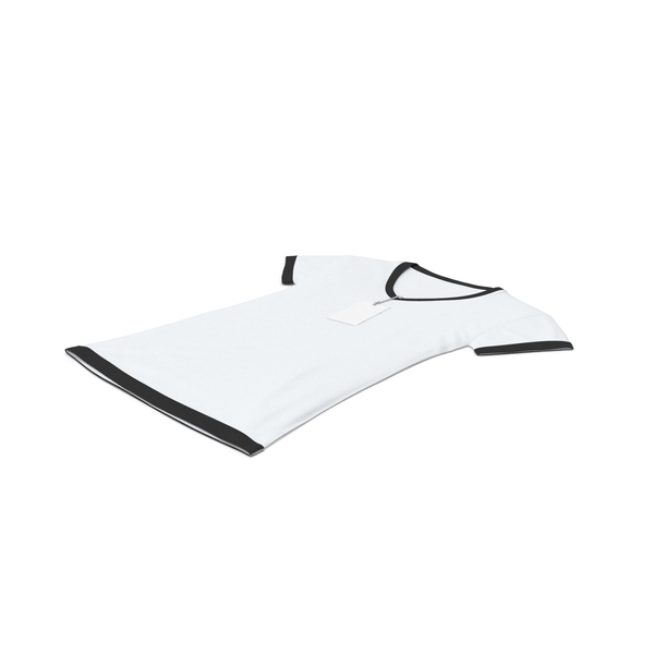 Tank Top: Female V Neck Laying With Tag White And Black PNG & PSD Images