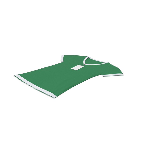 T Shirt: Female V Neck Laying With Tag White And Green PNG & PSD Images