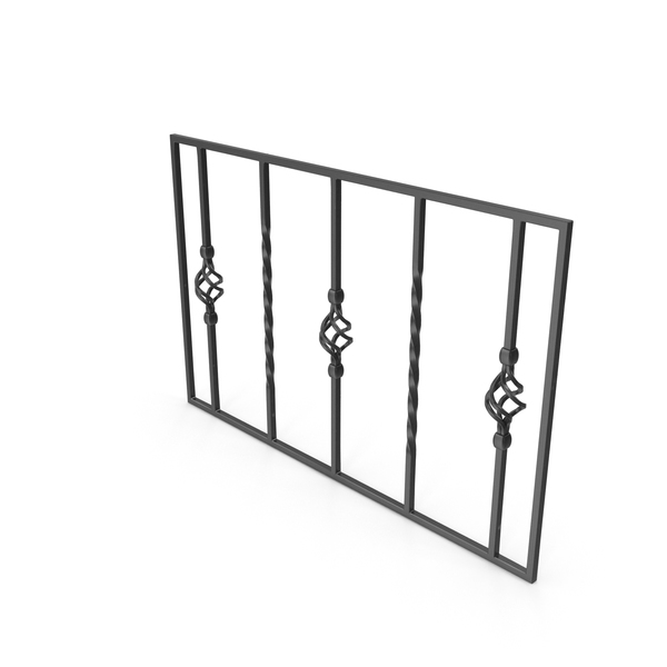 Wrought Iron: Fence PNG & PSD Images