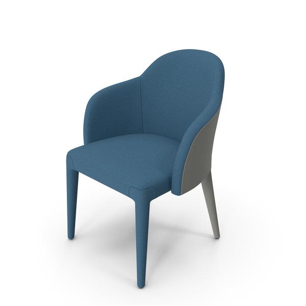 Arm: Fendi Audrey Chair A G Blue PNG & PSD Images