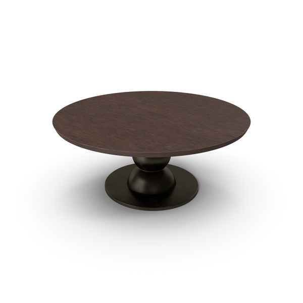 Fendi Table Walnut Damaged PNG & PSD Images
