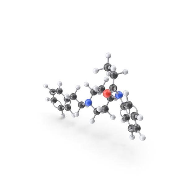 Fentanyl Molecule PNG & PSD Images
