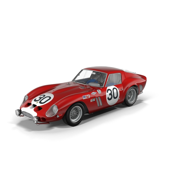 Race Car: Ferrari 250 GTO - 3223GT Object