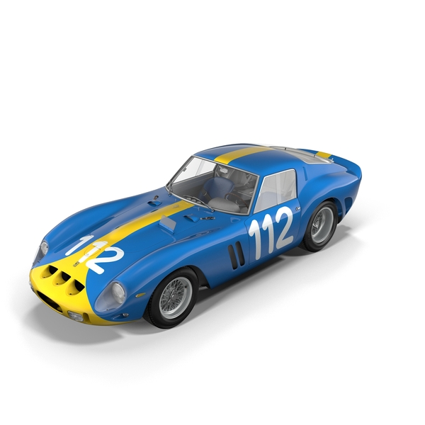 Race Car: Ferrari 250 GTO - 3445GT Object