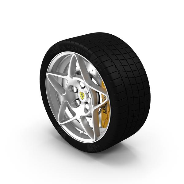 Ferrari Tire Object