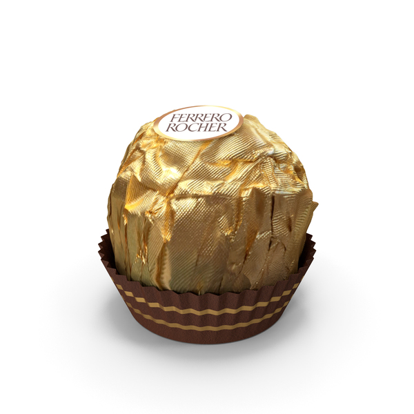 Chocolate: Ferrero Rocher Candy PNG & PSD Images