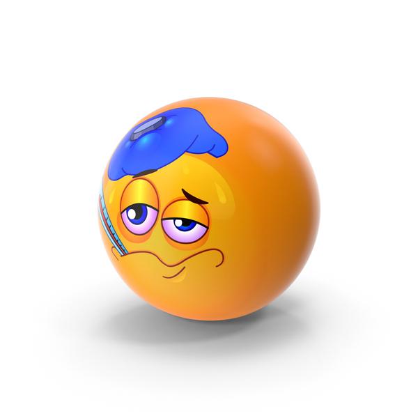 Fever Emoji PNG & PSD Images