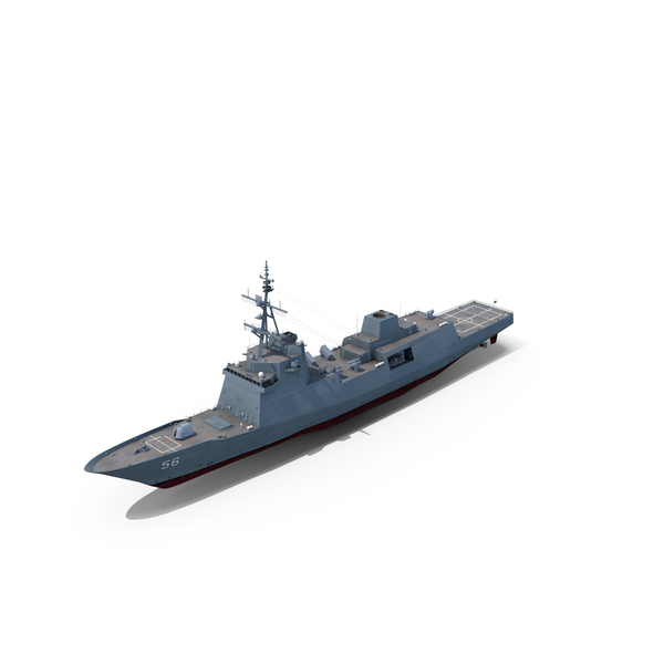 Guided Missile: FFG(X) Frigate PNG & PSD Images