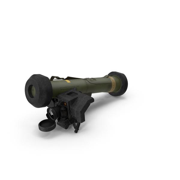 FGM-148 Javelin Rocket Launcher Object