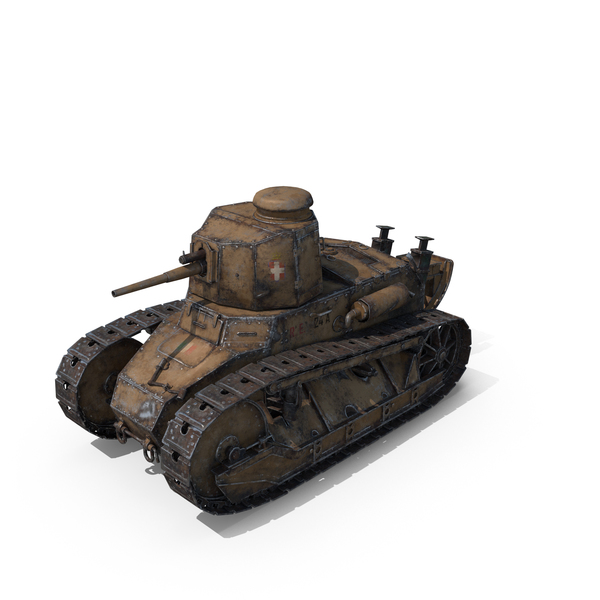 Fiat 3000 Tank PNG & PSD Images