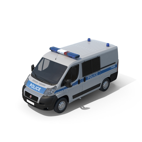 Fiat Police Van PNG & PSD Images