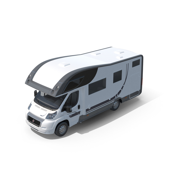 Recreational Vehicle: Fiat RV PNG & PSD Images