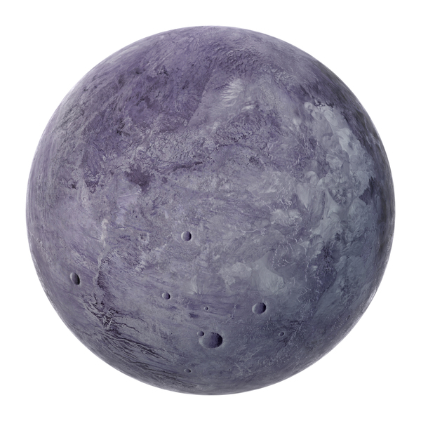 Fictional Purple Planet PNG & PSD Images