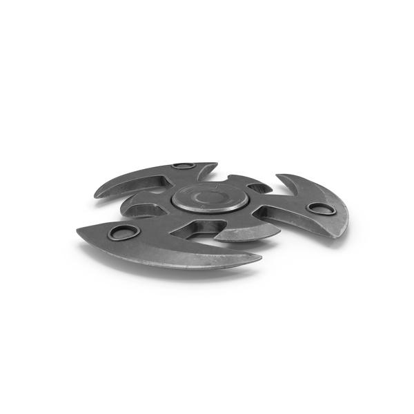 Fidget Spinner Metalic PNG & PSD Images