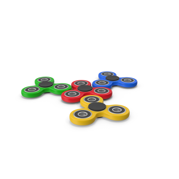 Fidget Spinners PNG & PSD Images