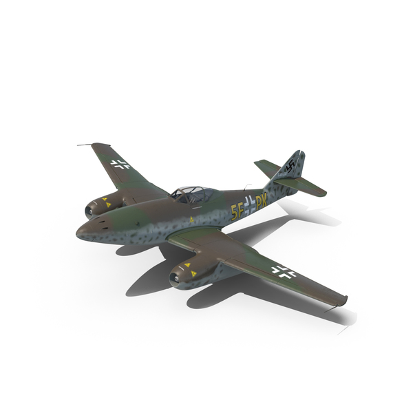 Fighter Aircraft Messerschmitt Me 262 Schwalbe PNG & PSD Images