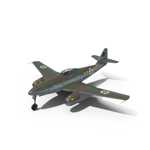 Plane: Fighter Aircraft Messerschmitt Me 262 Schwalbe PNG & PSD Images