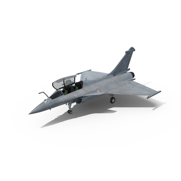 Fighter Jet Dassault Rafale Object
