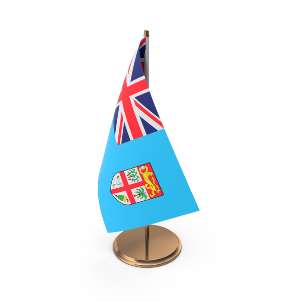 Fiji Desk Flag PNG & PSD Images