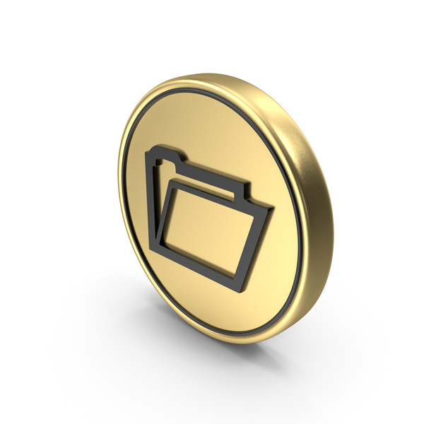 File Folder Coin Logo Icon PNG & PSD Images