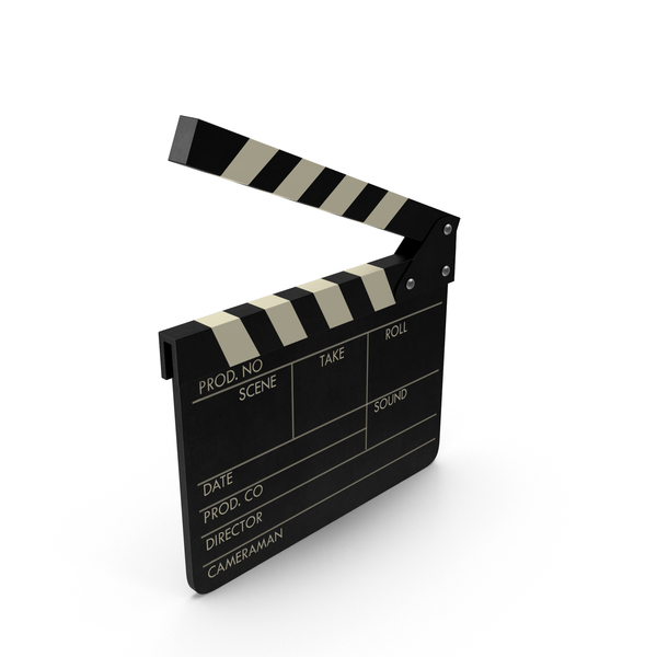 Film Clapboard Object