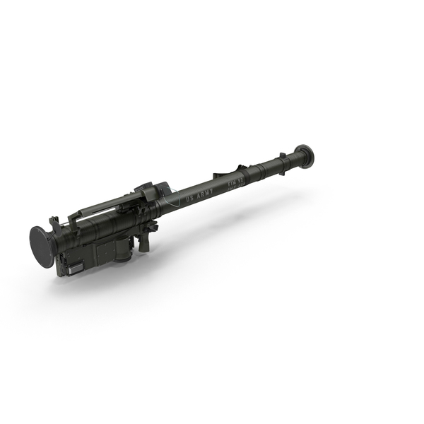FIM 92 Stinger Rocket Launcher PNG & PSD Images