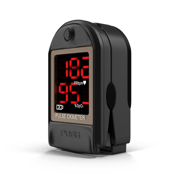 Medical Equipment: Finger Pulse Oximeter PNG & PSD Images