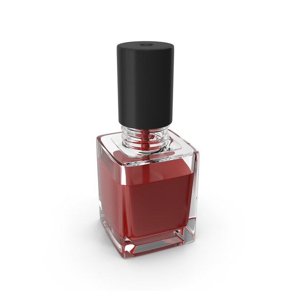 Fingernail Polish Bottle PNG & PSD Images