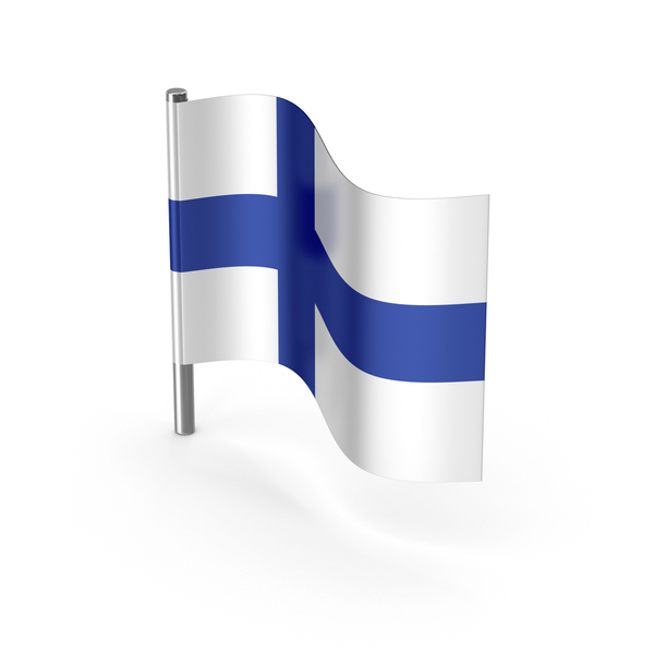 Finland Cartoon Flag PNG & PSD Images