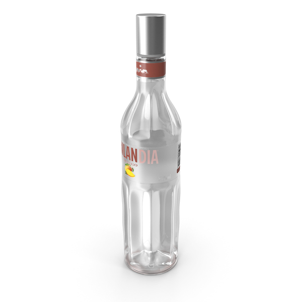 Finlandia Mango Vodka Bottle PNG & PSD Images