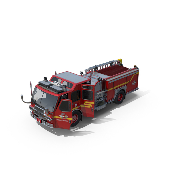 Fire Apparatus E-One Quest Seattle PNG & PSD Images