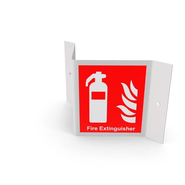 Fire Extinguisher Sign PNG & PSD Images