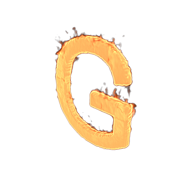 Fire Letter G PNG & PSD Images