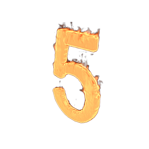 Fire Number Five PNG & PSD Images