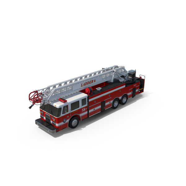 Engine: Fire Truck PNG & PSD Images