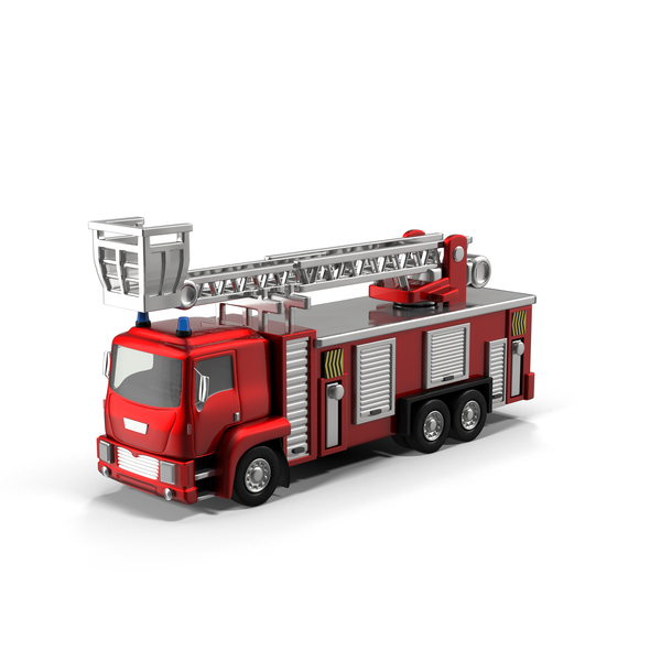 Toy: Fire Truck PNG & PSD Images
