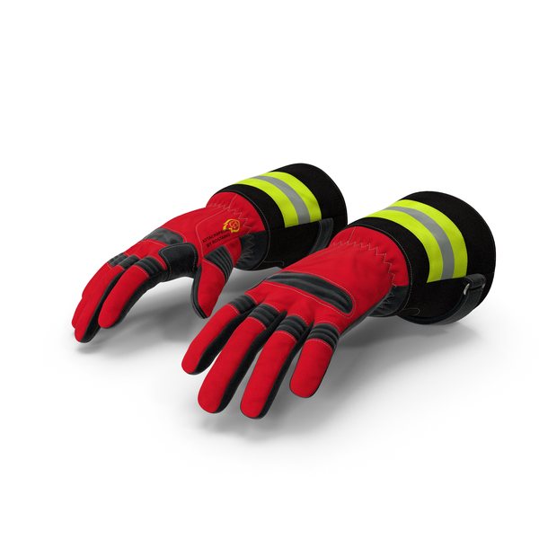 Firefighting Gloves PNG & PSD Images