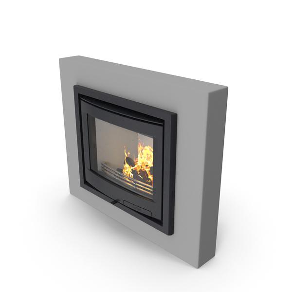 Fireplace Insert Contura i5 PNG & PSD Images