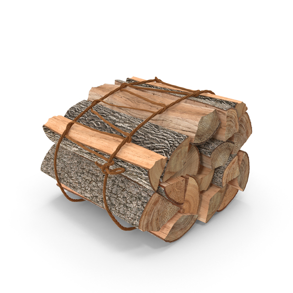 Firewood Stack Bunch Object