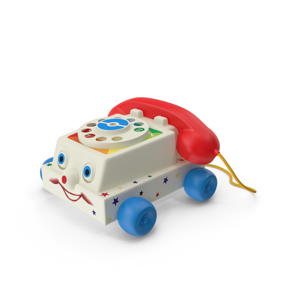 Fisher Price Chatter Box Telephone Object