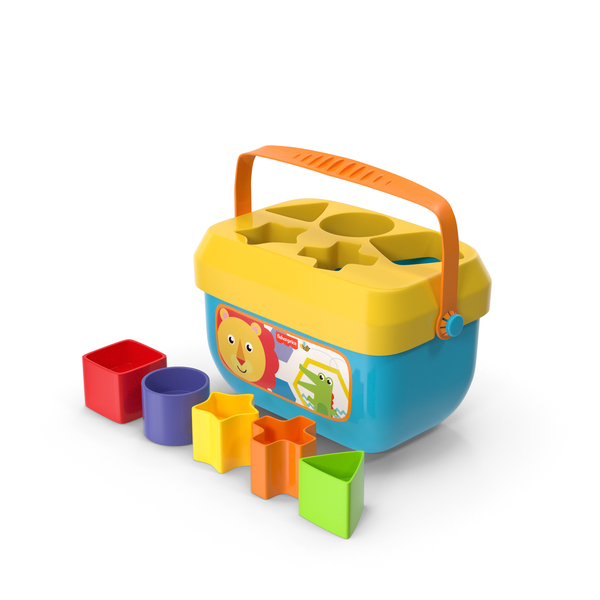Toys: Fisher Price FFC84 Baby Shape Sorter Toy PNG & PSD Images